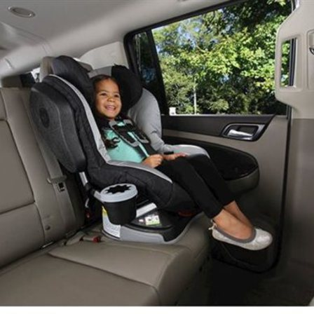 Britax Cup Holder Fits Sippy Cups Water Bottles Juice Boxes Drink Pouches And MORE Can Be Used On The Left Or Right Side Attached To Both Sides Of